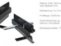 Ansicht des Randabschlussprofils Con KS O 170+ die Querübertragung erfolgt durch Feder und Nut oder optional mit zusätzlichen Runddübeln