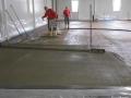 Arbeitsschritt: Beschichtung des Hartbetons mittels Haftbrücke