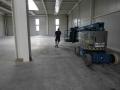Bild aus der Praxis; Hoch belastbarer Industrieboden aus Hartbeton