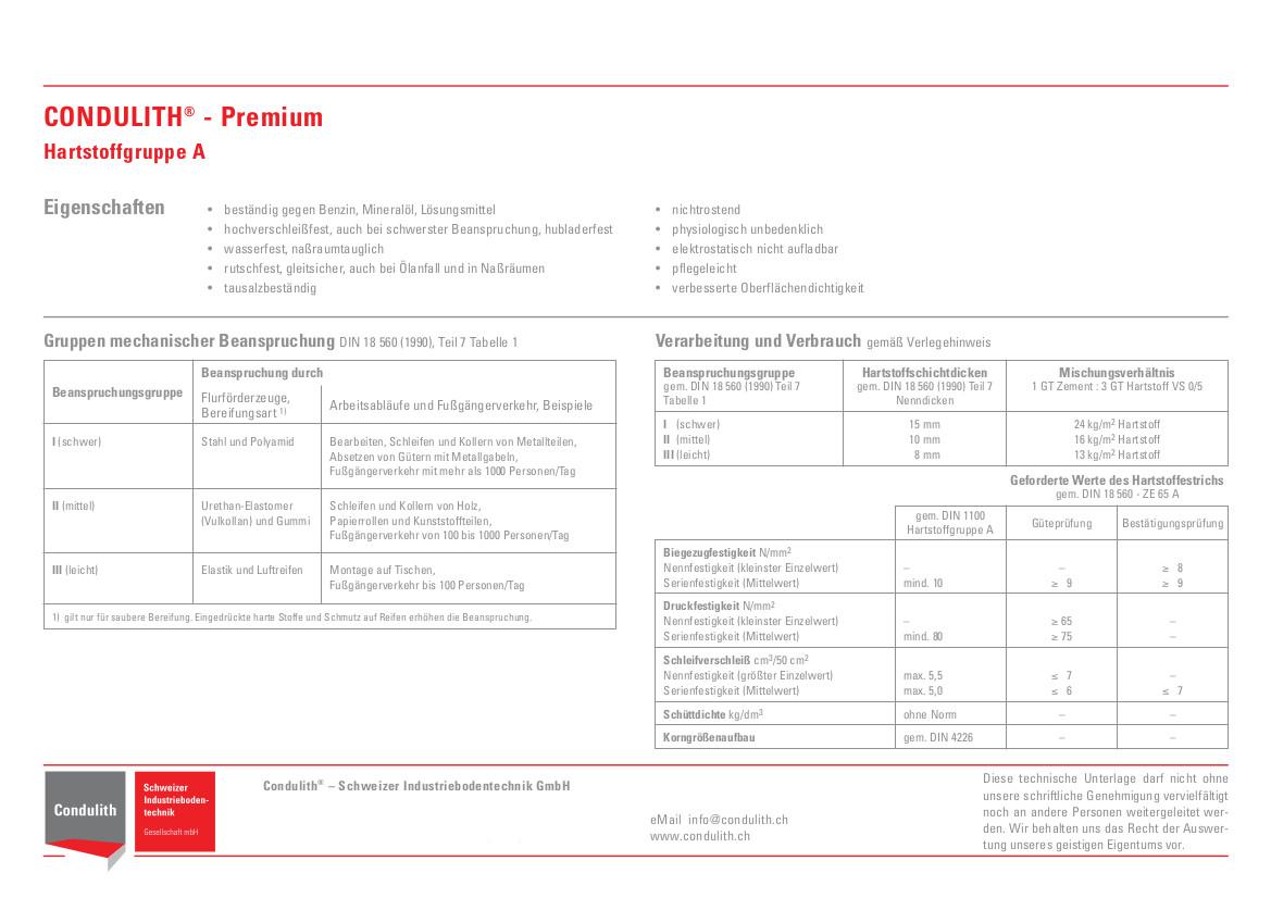 Planungshilfe Industrieboden: Erklärungen zur Hartstoffgruppe A für Beton-Industrieböden
